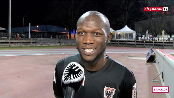 Video-Cover: FC Chiasso - FC Aarau 1:2 (13.02.2016, Runde 20) Stimmen zum Spiel