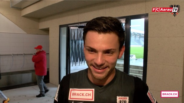 Video-Cover: FC Biel/Bienne - FC Aarau 1:3 (17.04.2016) Stimmen zum Spiel