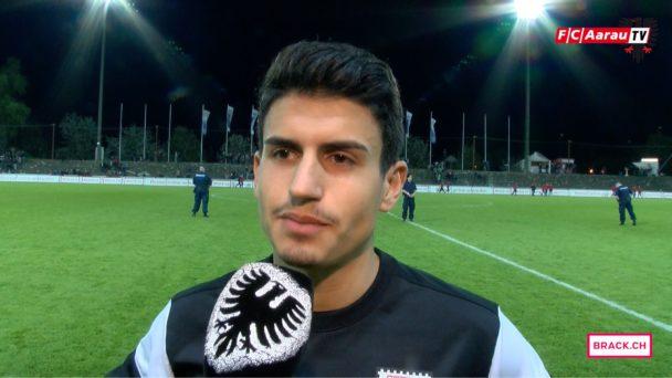 Video-Cover: FC Aarau - Neuchatel Xamax FCS 2:2 (20.04.2016) Stimmen zum Spiel
