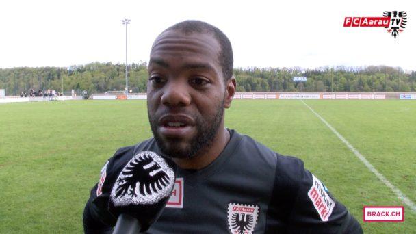 Video-Cover: FC Le Mont - FC Aarau 1:1 (24.04.2016) Stimmen zum Spiel