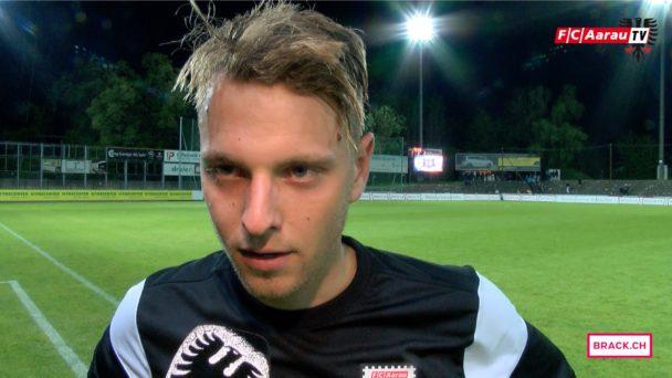 Video-Cover: FC Aarau - FC Lausanne-Sport 1:2 (09.05.2016) Stimmen zum Spiel