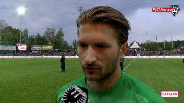 Video-Cover: FC Aarau - FC Chiasso 3:2 (16.05.2016) Stimmen zum Spiel