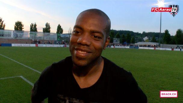 Video-Cover: FC Wohlen - FC Aarau 0:1 (21.05.2016, Runde 35) Stimmen zum Spiel