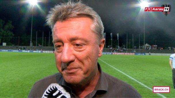 Video-Cover: FC Aarau - FC Schaffhausen 1:3 (27.05.2016, Runde 36) Stimmen zum Spiel