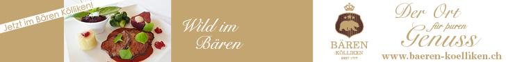 Werbemittel: Leaderboard (728 x 90) von Gasthaus Bären Kölliken