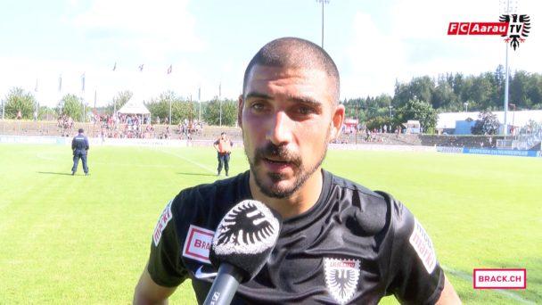 Video-Cover: FC Aarau - FC Chiasso 1:1 (24.07.2016) Stimmen zum Spiel