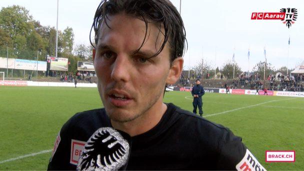 Video-Cover: FC Aarau - FC Wil 0:1 (16.10.2016, Stimmen zum Spiel)