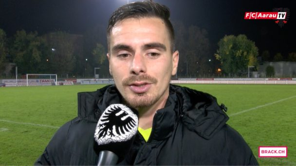 Video-Cover: FC Chiasso - FC Aarau 3:1 (22.10.2016, Stimmen zum Spiel)