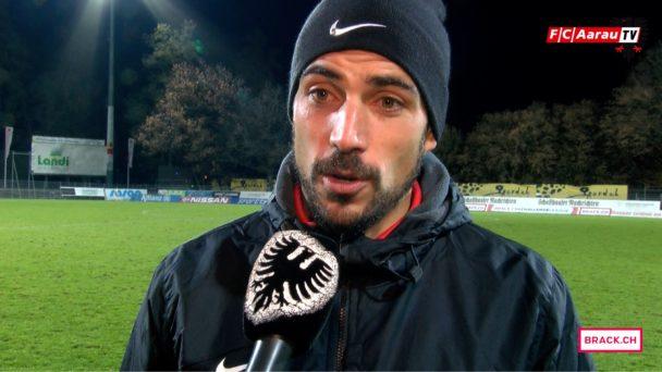 Video-Cover: FC Schaffhausen - FC Aarau 2:3 (21.11.2016, Stimmen zum Spiel)