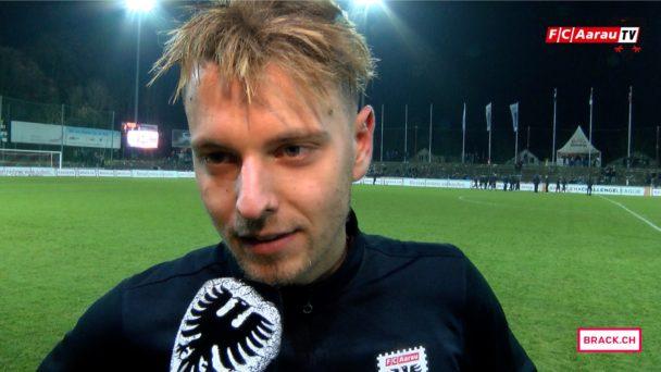 Video-Cover: FC Aarau - Neuchatel Xamax 2:3 (26.11.2016, Stimmen zum Spiel)