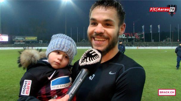 Video-Cover: FC Aarau - FC Wohlen 1:0 (04.12.2016, Stimmen zum Spiel)
