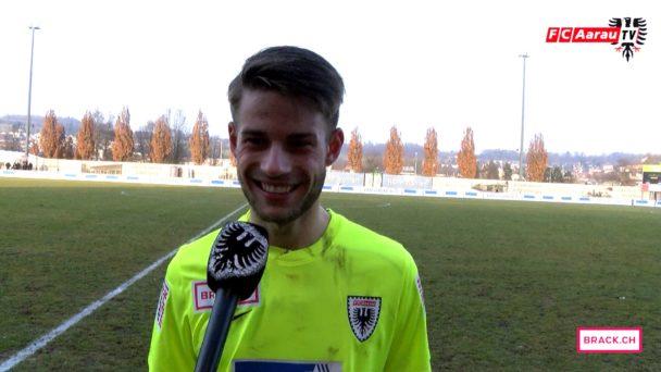 Video-Cover: FC Wohlen - FC Aarau 1:2 (12.02.2017, Stimmen zum Spiel)