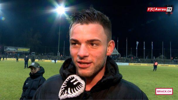 Video-Cover: FC Aarau - FC Le Mont 4:2 (18.02.2017, Stimmen zum Spiel)