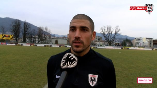Video-Cover: FC Chiasso - FC Aarau 5:1 (26.02.2017, Stimmen zum Spiel)