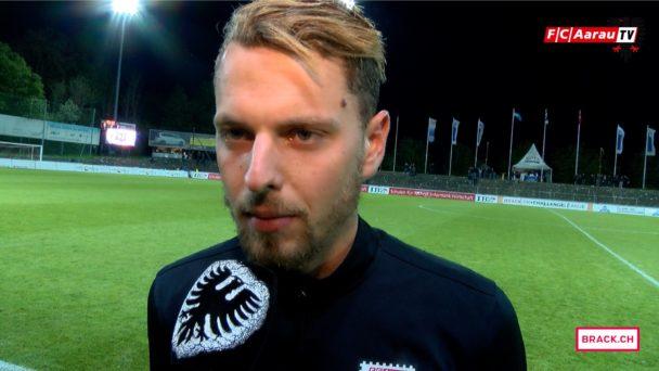 Video-Cover: FC Aarau - FC Wohlen 0:3 (22.04.2017, Stimmen zum Spiel)