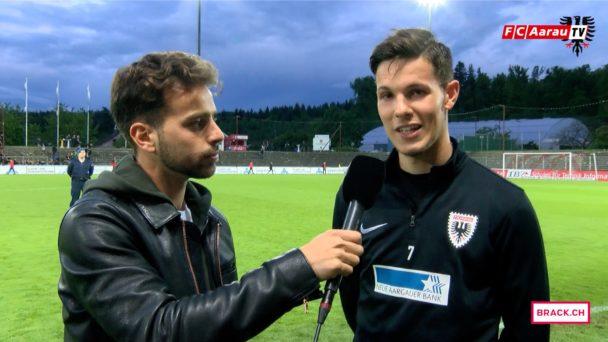 Video-Cover: FC Aarau - FC Wil 4:0 (13.05.2017, Stimmen zum Spiel)