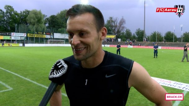 Video-Cover: FC Aarau - Neuchatel Xamax FCS 2:0 (03.06.2017, Stimmen zum Spiel)