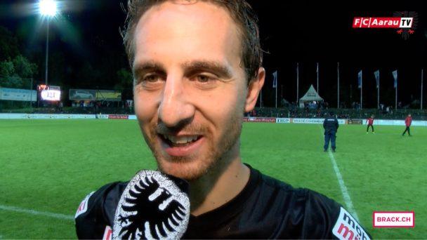 Video-Cover: FC Aarau - FC Schaffhausen 3:2 (20.08.2016, Stimmen zum Spiel)