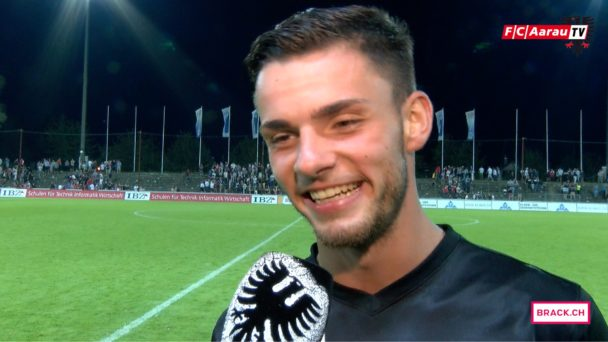 Video-Cover: FC Aarau - FC Le Mont 2:1 (10.09.2016) Stimmen zum Spiel