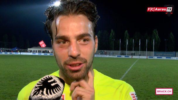 Video-Cover: FC Wohlen - FC Aarau 1:4 (21.09.2016) Stimmen zum Spiel