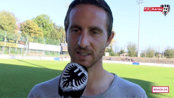 Video-Cover: FC Aarau - FC Zürich 1:1 (25.09.2016) Stimmen zum Spiel