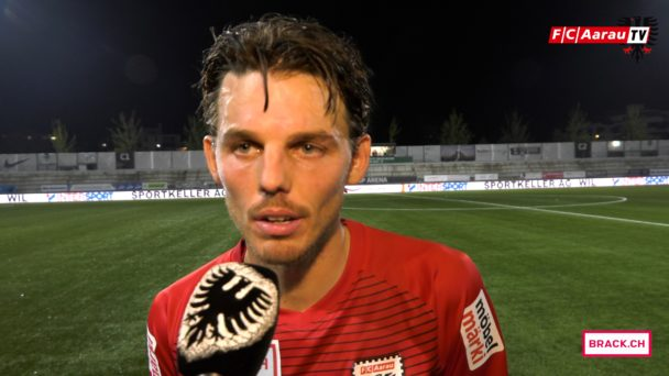 Video-Cover: FC Wil - FC Aarau 1:3 (14.10.2017, Stimmen zum Spiel)