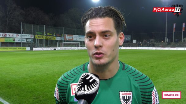 Video-Cover: FC Aarau - Servette FC 0:0 (17.11.2017, Stimmen zum Spiel)