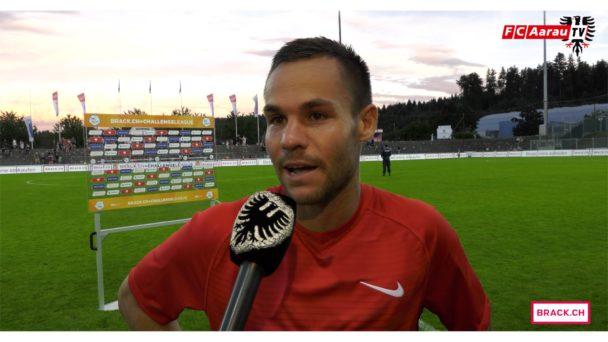 Video-Cover: FC Aarau - FC Wil 2:2 (29.07.2017, Stimmen zum Spiel)