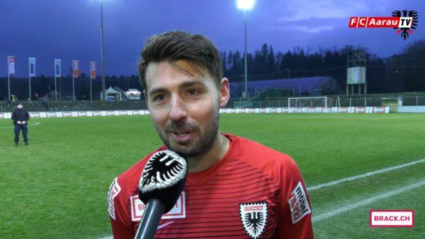 Video-Cover: FC Aarau - FC Chiasso 4:1 (18.02.2018, Stimmen zum Spiel)