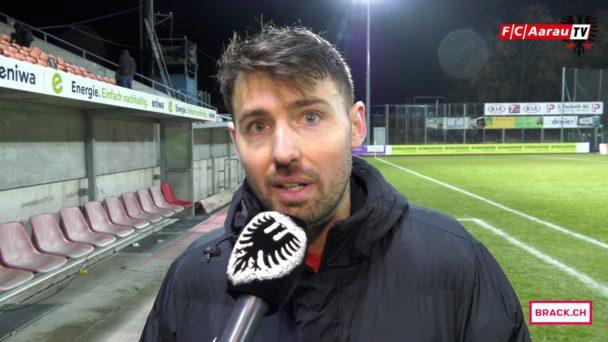 Video-Cover: FC Aarau - FC Rapperswil-Jona 0:1 (12.03.2018, Stimmen zum Spiel)