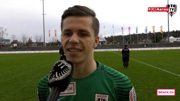 Video-Cover: FC Aarau - FC Winterthur 2:1 (02.04.2018, Stimmen zum Spiel)