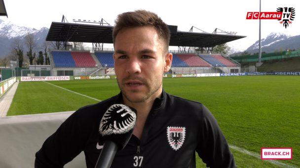 Video-Cover: FC Vaduz - FC Aarau 5:1 (08.04.2018, Stimmen zum Spiel)