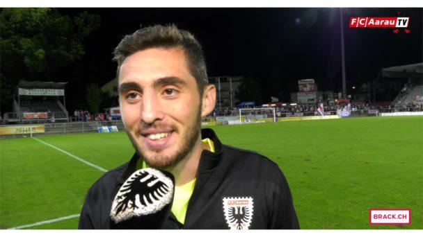 Video-Cover: FC Winterthur - FC Aarau 1:1 (07.08.2017, Stimmen zum Spiel)