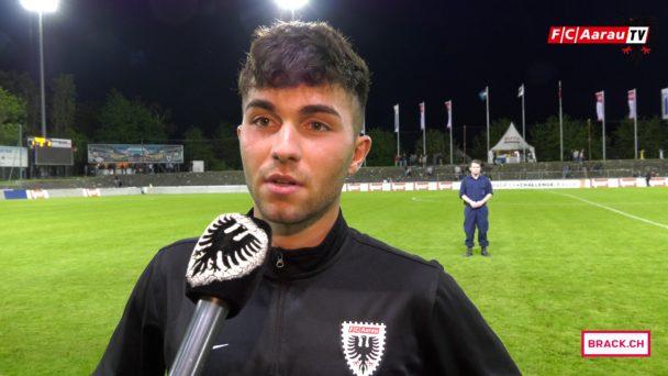Video-Cover: FC Aarau - Servette FC 1:2 (28.04.2018, Stimmen zum Spiel)