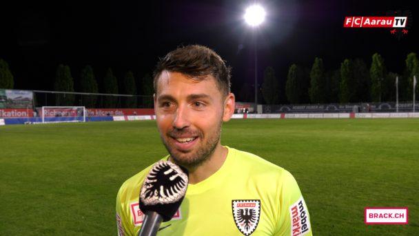 Video-Cover: FC Wohlen - FC Aarau 1:3 (07.05.2018, Stimmen zum Spiel)