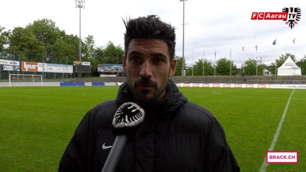 Video-Cover: FC Aarau - FC Wil 2:2 (13.05.2018, Stimmen zum Spiel)