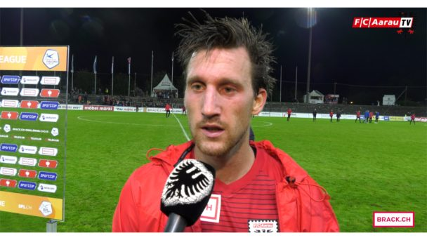 Video-Cover: FC Aarau - FC Schaffhausen 1:2 (10.08.2017, Stimmen zum Spiel)