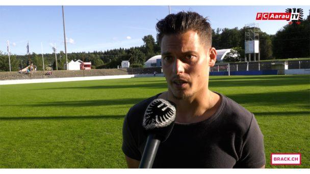Video-Cover: FC Aarau - FC Vaduz 0:2 (20.08.2017, Stimmen zum Spiel)