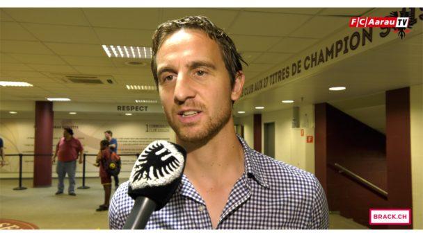 Video-Cover: Servette FC - FC Aarau 3:0 (25.08.2017 Stimmen zum Spiel)