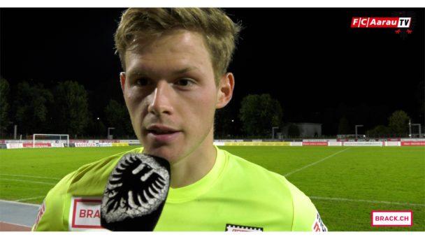 Video-Cover: FC Chiasso - FC Aarau 1:0 (20.09.2017, Stimmen zum Spiel)