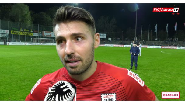 Video-Cover: FC Aarau - FC Rapperswil-Jona 0:0 (23.09.2017, Stimmen zum Spiel)