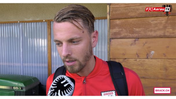 Video-Cover: FC Echallens Région - FC Aarau 2:1 (13.08.2017, Stimmen zum Spiel)