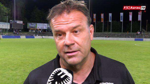 Video-Cover: FC Aarau - Servette FC 0:2 (21.07.2018, Stimmen zum Spiel)