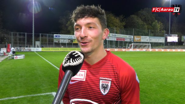 Video-Cover: FC Aarau - FC Wil 2:0 (26.10.2018, Stimmen zum Spiel)