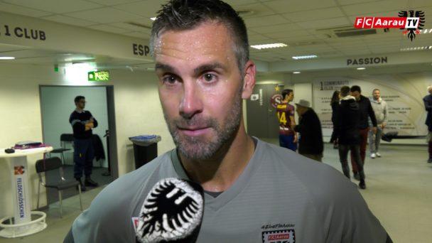 Video-Cover: Servette FC - FC Aarau 3:1 (20.10.2018, Stimmen zum Spiel)