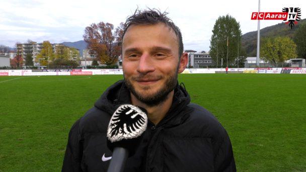 Video-Cover: FC Chiasso - FC Aarau 2:3 (04.11.2018, Stimmen zum Spiel)