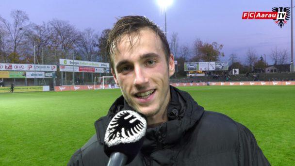 Video-Cover: FC Aarau - FC Rapperswil-Jona 3:0 (11.11.2018, Stimmen zum Spiel)