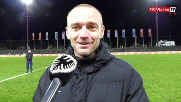 Video-Cover: FC Aarau - FC Vaduz 3:1 (07.12.2018, Stimmen zum Spiel)