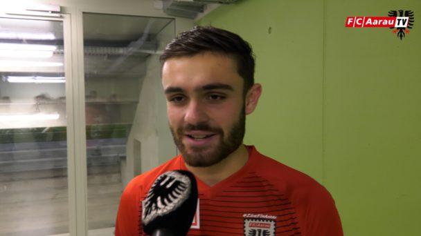 Video-Cover: SC Kriens - FC Aarau 1:2 (15.12.2018, Stimmen zum Spiel)