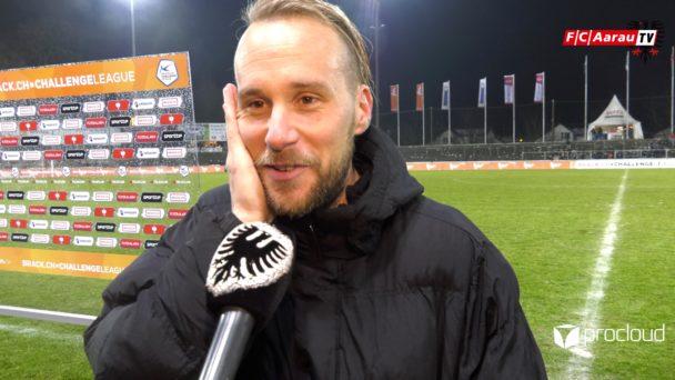 Video-Cover: FC Aarau - FC Wil 3:1 (01.02.2019, Stimmen zum Spiel)